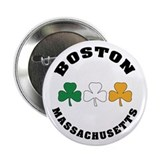 "Boston Irish Shamrocks 2.25"" Button"
