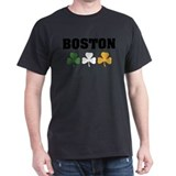 Boston Irish Shamrocks T-Shirt