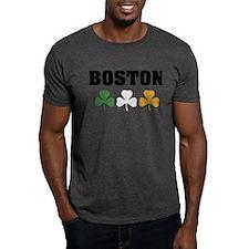 Boston Irish Shamrocks T-Shirt