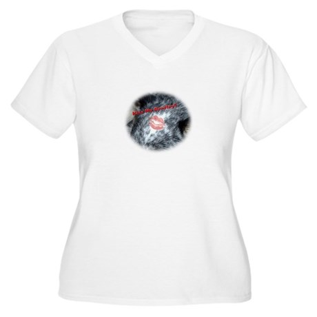 Kiss My Bentley! Women's Plus Size V-Neck T-Shirt