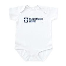 BELGIAN LAEKENOIS SHEPHERD Infant Bodysuit
