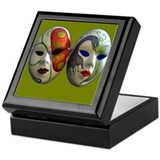 Two masks Keepsake Box