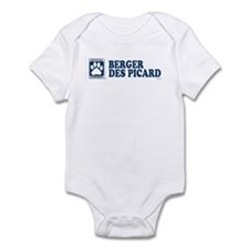 BERGER DES PICARD Infant Bodysuit