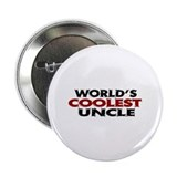 "World's Coolest Uncle 2.25"" Button (100 pack)"