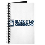 BLACK TAN COONHOUND Journal