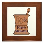 Pharmacist Mason Framed Tile
