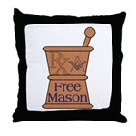 Pharmacist Mason Throw Pillow