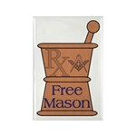 Pharmacist Mason Rectangle Magnet (100 pack)