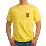 Pharmacist Mason Yellow T-Shirt