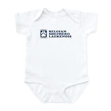 BELGIAN SHEPHERD LAEKENOIS Infant Bodysuit