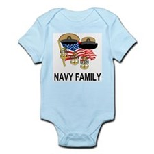 Navy Chief's Family <BR>Infant Creeper