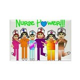 Nurses Rectangle Magnet
