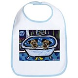 BORDER TERRIER bath Bib