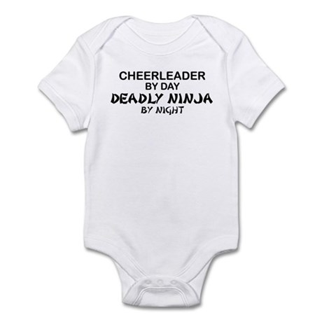 Cheerleader Deadly Ninja Infant Bodysuit