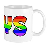 Thys Gay Pride (#004) Small Mug