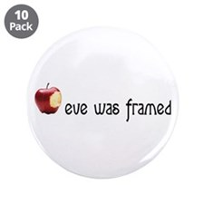 "eve was framed 3.5"" Button (10 pack)"