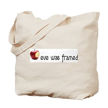 eve was framed Tote Bag