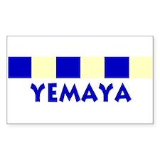 Yemaya Rectangle Decal