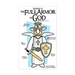 Lambuel Full Armor of God Sticker