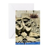 Courthouse Fountain Greeting Cards (Pk of 10)