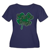 Erin Go Bragh v4 Women's Plus Size Scoop Neck Dark
