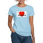 I Love Alaska! Women's Light T-Shirt