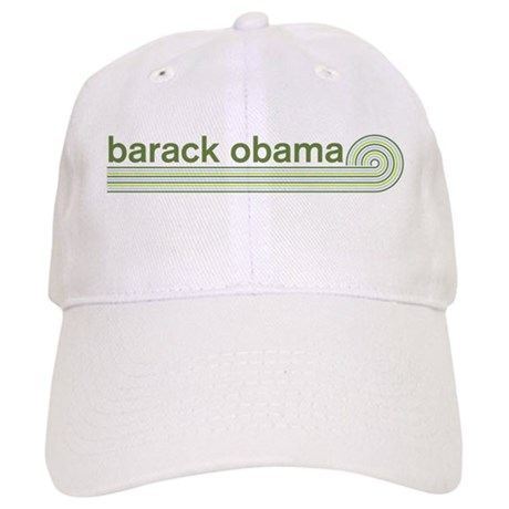 Barack Obama (retro green) Cap
