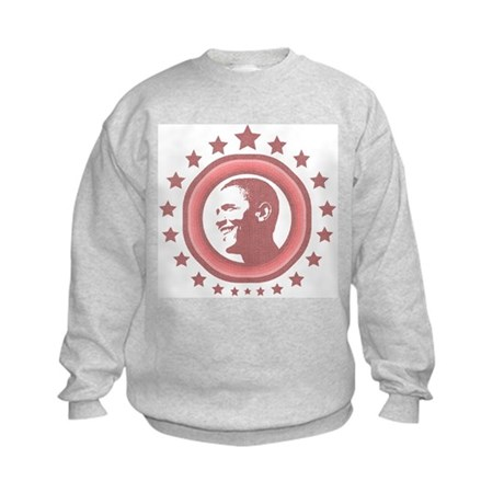 Super Obama (red) Kids Sweatshirt