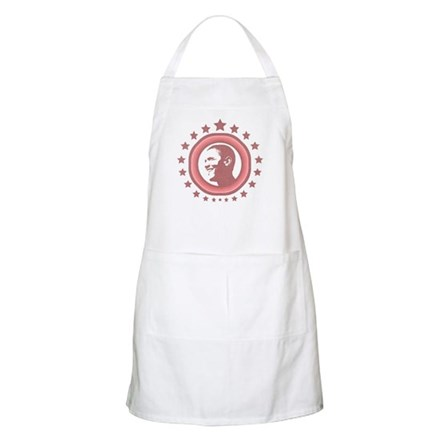 Super Obama (red) BBQ Apron