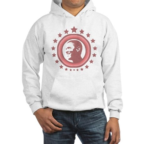 Super Obama (red) Hooded Sweatshirt