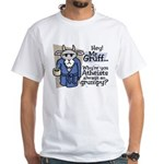 Mr. Gruff Atheist Witnessing Shirt
