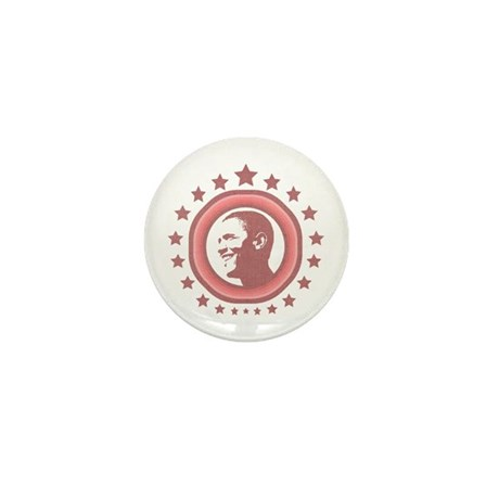 Super Obama (red) Mini Button