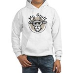 Mr. Gruff Circle Logo Hooded Sweatshirt