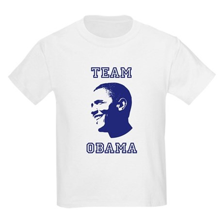 Team Obama Kids Light T-Shirt