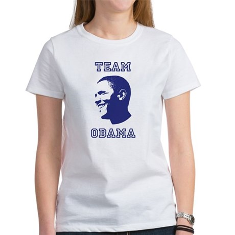 Team Obama Womens T-Shirt