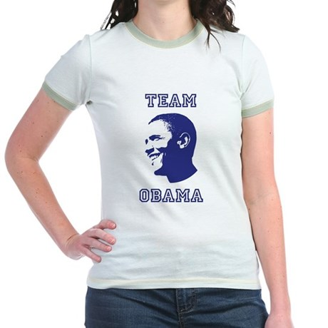 Team Obama Jr Ringer T-Shirt