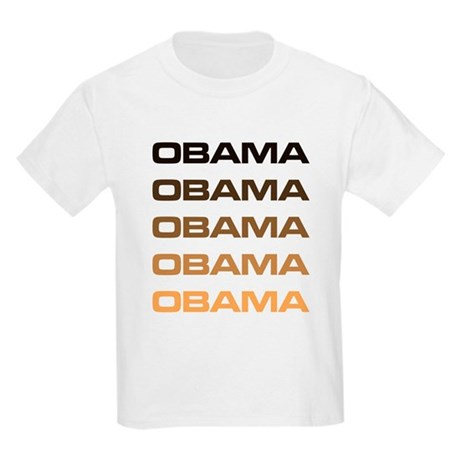 Obama Obama Obama Kids Light T-Shirt