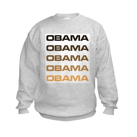 Obama Obama Obama Kids Sweatshirt