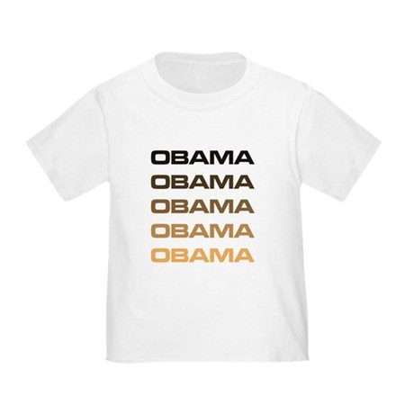 Obama Obama Obama Toddler T-Shirt