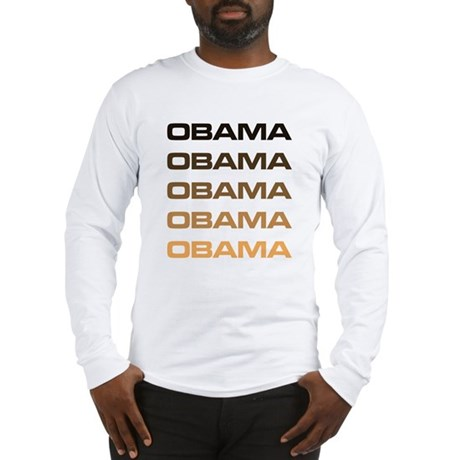 Obama Obama Obama Long Sleeve T-Shirt