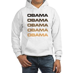 Obama Obama Obama Hooded Sweatshirt
