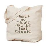 Last Minute Shopping Joke Tote Bag