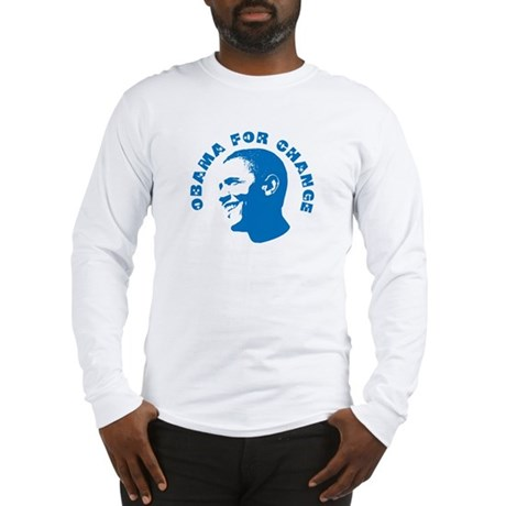 Obama for Change  Long Sleeve T-Shirt