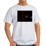 Christmas Tree at Night Light T-Shirt