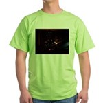 Christmas Tree at Night Green T-Shirt