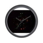 Christmas Tree at Night Wall Clock