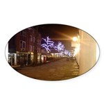 Christmas on the Pantiles, Tu Oval Sticker