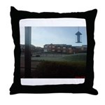 Suburban Frost Throw Pillow