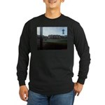 Suburban Frost Long Sleeve Dark T-Shirt