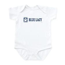 BLUE LACY Infant Bodysuit